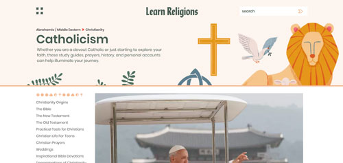 Learn Religions: Catholicism.