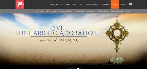EWTN Global Catholic Television.