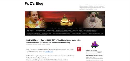 Fr. Z's Blog.