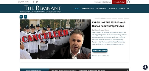 The Remnant Newspaper.